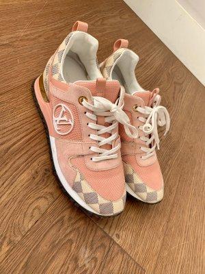 Louis Vuitton Run Away Sneaker Farbe Rose Größe 38