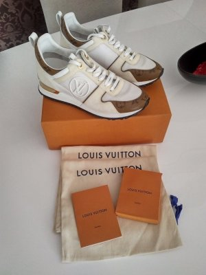 Louis Vuitton Zapatilla brogue blanco