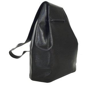 Louis Vuitton Sac à Dos Rucksack Epi Leder Schwarz Tasche Handtasche