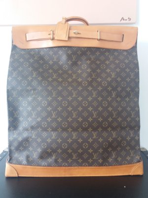 LOUIS VUITTON Sac de Voyage Steamer Bag 55 Monogram Canvas Reisetasche