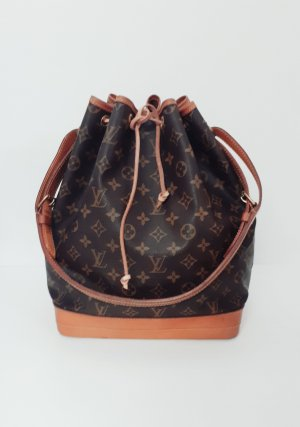 Louis Vuitton Bolso color bronce-marrón-negro