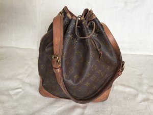Louis Vuitton Pouch Bag brown leather