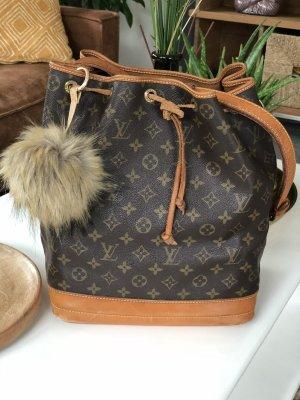Louis Vuitton Borsellino marrone scuro-marrone chiaro