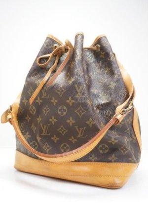 Louis Vuitton Pouch Bag dark brown-brown