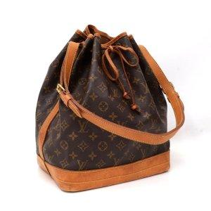 Louis Vuitton Sac seau brun foncé-brun
