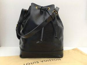 Louis Vuitton Buideltas zwart Leer