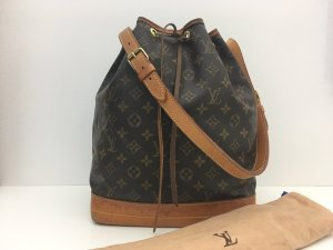 Louis Vuitton Sac seau brun cuir