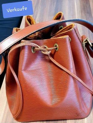 Louis Vuitton Sac porté épaule cognac