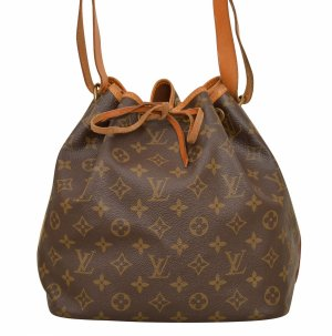 Louis Vuitton Pouch Bag dark brown-brown