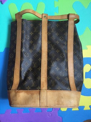 Louis Vuitton Bolsa de marinero color bronce-marrón
