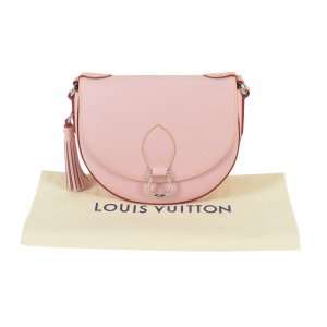 Louis Vuitton Crossbody bag silver-colored-light pink leather