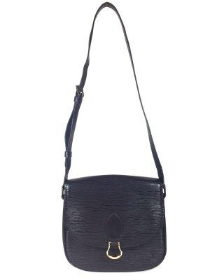 Louis Vuitton Saint Cloud GM Epi Leder Kouril Schwarz Tasche Handtasche