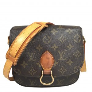 Louis Vuitton Saint Cloud MM Monogram Canvas Tasche Handtasche Crossbody