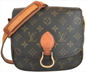 LOUIS VUITTON SAINT CLOUD MM UMHÄNGETASCHE AUS MONOGRAM CANVAS