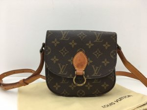 Louis Vuitton Borsa a spalla marrone Pelle