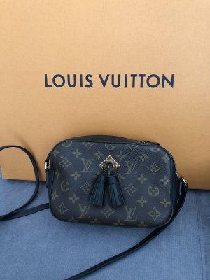 Louis Vuitton Gekruiste tas zwart-bruin