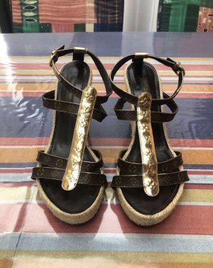 Louis Vuitton Sandalen ~ Wedge ~ Keilabsatz