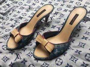 Louis Vuitton Mule beige-bleu
