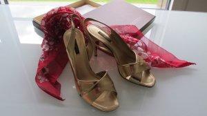 Louis Vuitton Sandaletten Gr. 38 1/2