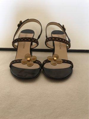 Louis Vuitton Sandaletten mit Blockabsatz