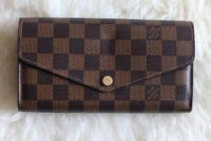 LOUIS VUITTON SARAH WALLET DAMIER EBENE CANVAS