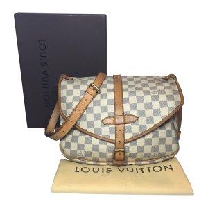 Louis Vuitton Saumur 30 Damier Azur Canvas Tasche Handtasche Umhängetasche
