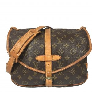 Louis Vuitton Saumur 30 Monogram Canvas Tasche Handtasche Crossbody