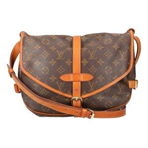 Louis Vuitton Saumur 30 Monogram Canvas Tasche, Handtasche, Umhängetasche