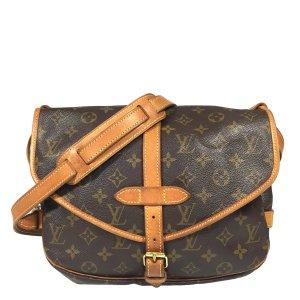 Louis Vuitton Saumur 30 Tasche Handtasche Umhängetasche aus Monogram Canvas