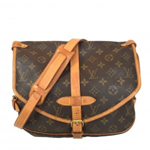 LOUIS VUITTON SAUMUR 30 UMHÄNGETASCHE AUS MONOGRAM CANVAS