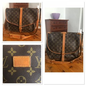 Louis Vuitton Saumur 35 Monogram Canvas Saddlebag