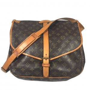 Louis Vuitton Saumur 35 Monogram Canvas Tasche Handtasche Crossbody