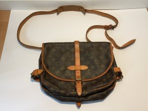 "Louis Vuitton ""Saumur"" Monogram Canvas Handtasche"