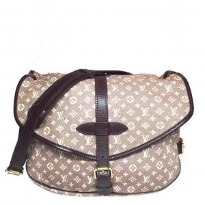 Louis Vuitton Saumur Monogram Idylle Canvas Sepia Tasche Handtasche Crossbody