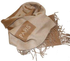 LOUIS VUITTON Schal beige hellbraun 100% Kaschmir