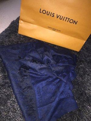 Louis Vuitton Halsdoek donkerblauw-zwart