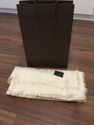 Louis Vuitton Schal cremeweiss