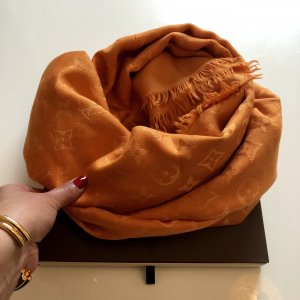 Louis Vuitton Écharpe d'été orange
