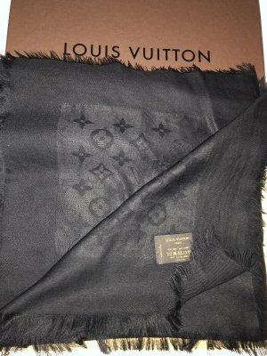 Louis Vuitton Silk Scarf black