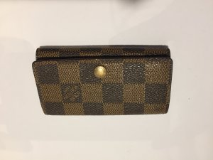 Louis Vuitton Key Case black brown-sand brown