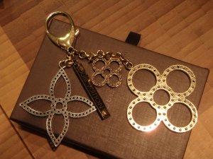 Louis Vuitton Porte-clés argenté-doré