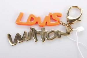 Louis Vuitton Schlüsselanhänger neon