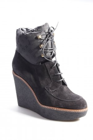 Louis Vuitton Lace-up Boots Wedge