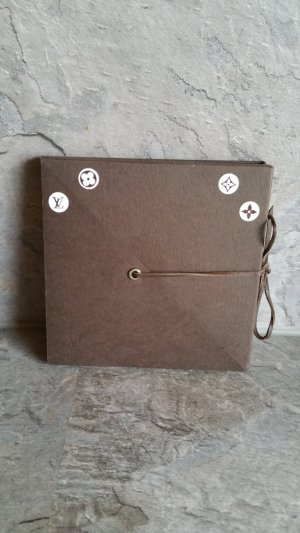 Louis Vuitton Knoop bruin-donkerbruin