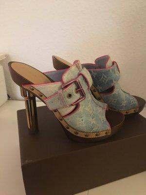 Louis Vuitton Chaussures rose-bleu azur