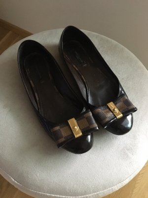 Louis Vuitton Patent Leather Ballerinas multicolored