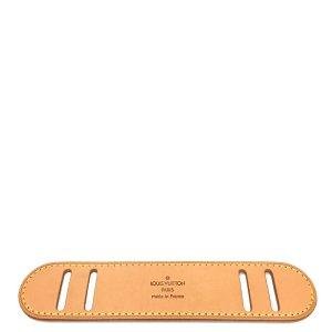 Louis Vuitton Schulterpolster VVN Leder Hellbraun