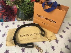 Louis Vuitton Accesorio marrón arena-marrón-negro Cuero