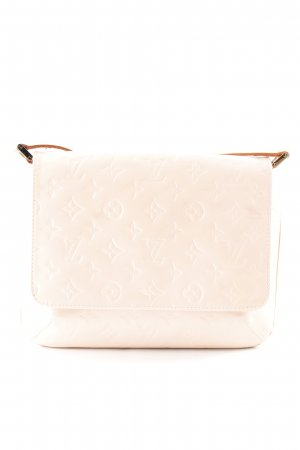 Louis Vuitton Schultertasche creme Allover-Druck Casual-Look