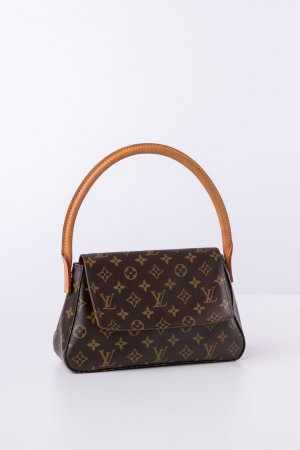 LOUIS VUITTON - Schultertasche Looping Mini Monogram Canvas